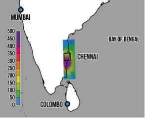 Chennai Floods, December 2015 | World Weather Attribution on boston map direction, india map direction, street map direction,